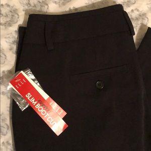 Elle Pants & Jumpsuits - NWT Elle Black Curvy Fit Slim Boot Cut Pants